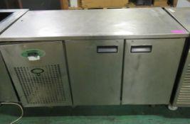 Fosters undercounter fridge - 2 door