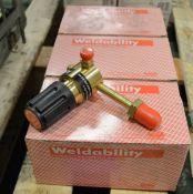 3x Weldability regulators