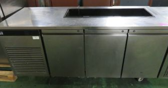 Fosters Eco Pro G2 under counter fridge - 3 door