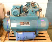 Cental Air Compressor BN Se 286 PT1 150psi 50 Litre Tank