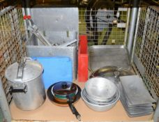 Catering - Mixed Utensils, Pots And Pans,Tray, Lids