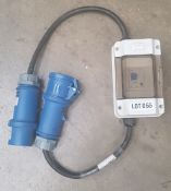 32amp 1 phase inline RCD