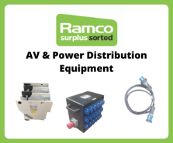 Professional AV & Power Distribution Equipment On Behalf Of Various Leading Providers