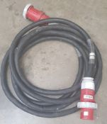 125amp 3 phase extension cable 10m