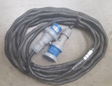63amp 1 phase extension cable 15m