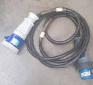 63amp 1 phase extension cable 5m