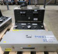 Digital Tachometer Tester Model Number 10074 & Duel Tachometer TS Model Number 10101