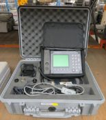 Anritsu Site Master S331A Analyser Set, Antenna & Cable in Case.