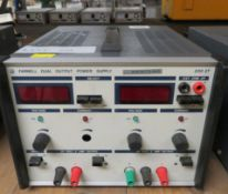 Farnell Dual Output Power Supply 30v.