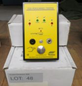 3x Vermason ESD Personnel Tester.