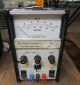 Farnell Instruments Ltd Stabilised Power Supply 30V.