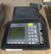Anritsu Site Master S331A Analyser, Marks on Monitor.