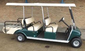 Ingersoll Rand Club Car Villager Electric green - 6 seater - QuiQ
