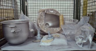 Various Catering Spares - Mixer Bowls, Strainers, Whisks