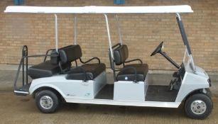 Ingersoll Rand Club Car Villager Electric grey - 6 seater - QuiQ