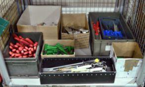Knife, Potato Peeler, & Steel Fork Assortment