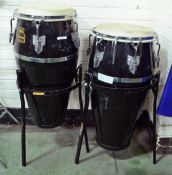 Roland AA Meinl Congas With Stands