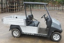 Ingersoll Rand Club Car Electric Carry all 500 Tipping Truck - 90.6 hours run
