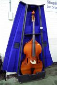 Roderich Paesold Double Bass Model 590 P with Case - very good condition