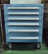 Mobile Multi Drawer Tool Cabinet L1440 x W800 x H1200