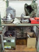 Field Kitchen set - cooker, oven, utensil set in carry box, norweigen food boxes, accessor