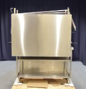 2x Stainless Steel 3 Tier Preperation Tables - L1300 x W5000 x H1070mm