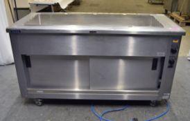 Victor SCEP16Z Heavy Duty Mobile Bain Marie & Hot Cupboard - Single Phase