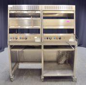 FFS Brands EQVI017 Electric 4x Food Chutes - 230v Single Phase