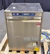 Electrolux EUCAIWSG Undercounter Dishwasher - Single Phase