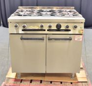 Falcon 6 Gas Burner Hob and Oven