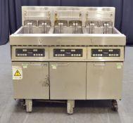 Frymaster H14 Triple Tank 4 Basket Capacity Electric Fryer - 400v 3-Phase
