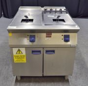 Electrolux Commerical Electric Double Fryer - 400v 3-Phase