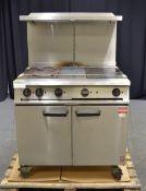 Falcon E2101EU4HP Electric Oven and Hot Plate 400V 15.1kW