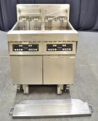Frymaster H17 Twin Tank 4 Basket Capacity Electric Fryer - 400v 3 Phase