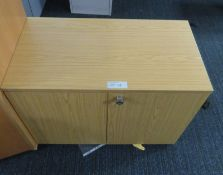 Office 2 Door Cupboard. Dimensions: 950x500x730mm (LxDxH)