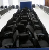 Large Quantity Of Kinnarps Office Chairs. Varying Condition. Approximately 45.