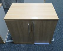 Office 2 Door Cupboard. Dimensions: 800x500x720mm (LxDxH)