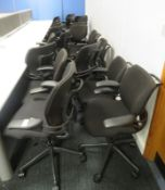 20x Humanscale Freedom Task Office Swivel Chairs. Varying Condition.