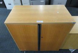 Office 2 Door Cupboard. Dimensions: 1000x520x1020mm (LxDxH)