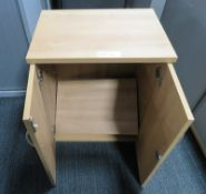 Office 2 Door Cupboard. Dimensions: 570x400x710mm (LxDxH)