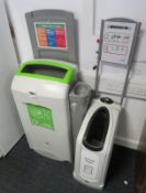 2x Waste/Recyclable Bins.