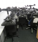 Various Office Chairs In Varying Condition. Majority Are Kinnarps. Approximately 48.
