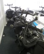 Various Office Chairs In Varying Condition. Majority Are Kinnarps. Approximately 15.