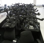 Various Office Chairs In Varying Condition. Majority Are Kinnarps. Approximately 34.