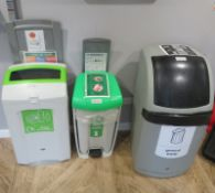 3x Various Recyclable/Waste Bins.
