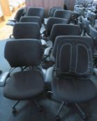 10x Humanscale Freedom Task Office Swivel Chairs. Varying Condition.
