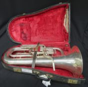 Boosey & Hawkes Imperial euphonium with case. Serial number:430642