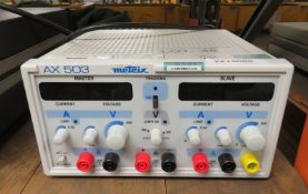 Metrix AX503 Digital Meter Bench Power Supply