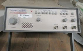 Thurlby Thandar TG210 2MHz Function Generator (No Power Cable)