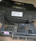 Sunrise Telecom Sunset E20 Telecommunication Analyzer in Carry Case